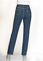(FDJ) French Dressing Jeans Peggy Bootcut Style # ( 851002 ) or the new style 8224002 Colour Dark Tint Blue (always in stock) [PETITE Size]