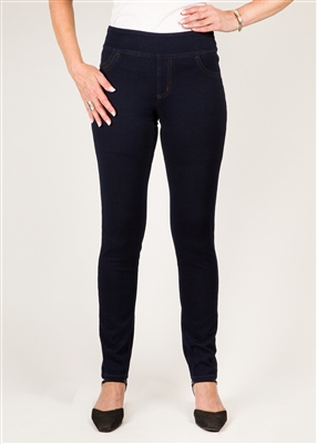 (FDJ) Love Jean - Colour [Indigo] - Pull-on Jegging Style#:2416214(ALWAYS IN STOCK)