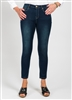 FDJ (French Dressing Jean) Olivia Ankle Pant 29 inch Inseam Style # 2519601 Colour Indigo  Size 8,12,14, left in stock