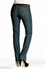 (FDJ) French Dressing Jeans Olivia Straight Leg Style # 4352002  Colour Dark Tint Blue {PETITE Size] Sold Out