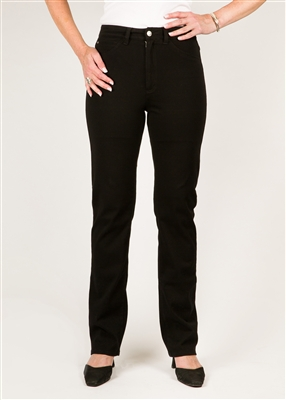 (FDJ) Love Jean Suzanne Straight Leg - Colour [Black] - Style#:8439214 [PETITE Size] left in stock 2 PT, 8 PT,16 PT, 18 PT