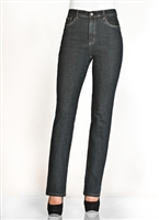 (FDJ) FRENCH DRESSING JEANS Suzanne 5 Pocket Straight Leg Jean # 8567002 or the new style 8459002  COLOUR DARK TINT BLUE (ALWAYS IN STOCK) [PETITE Size]