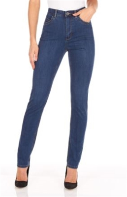 French Dressing Jeans Suzanne Slim Leg – Available in Colour Delight 8473250 Petite Sizes: 2-18