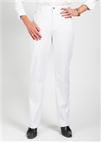 FDJ (French Dressing) Suzanne 5 Pocket Straight Leg Light Weight Fabric Style # 8706240 Colour White Petite Size left  6 PT, 8 PT, 12 PT, 14 PT