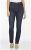 (FDJ) Jean Olivia Straight 5 POCKET STRAIGHT LEG- Style # 235202G - Colour:  midnite