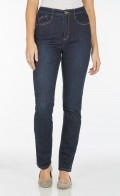 (FDJ) Jean Olivia Straight 5 POCKET STRAIGHT LEG- Style # 2967002 - Colour:  midnite