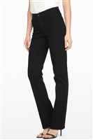 ( NYDJ ) Marilyn Straight Leg 5 pocket Colour Black - style # 431B