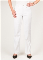 Simon Chang 5 Pocket Straight Leg Microtwill Pants Style # 3-5302 Colour [White]