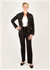 Simon Chang Microtwill Jacket Black for Women (Style # 3-5564), From Lorenzaonline