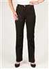 SIMON CHANG 5 POCKET STRAIGHT LEG Jean - Colour [Black] -  STYLE # 3-5631 left in stock size 4,6,8,10,