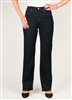 SIMON CHANG 5 POCKET STRAIGHT LEG Jean - Colour [Blue] -  STYLE # 3-5631P - [PETITE] - *ALWAYS IN STOCK*