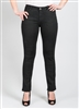 Simon Chang Jean 5 Pocket Slim-Straight Leg Style # 6643 Colour Black