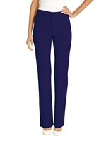 Simon Chang 5 Pocket Straight Leg Microtwill Pants Style # 3-5302P - Colour: Navy  - [PETITE]  *Always in stock*