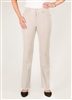 Simon Chang 5 Pocket Straight Leg Microtwill Pants Style # 3-5302P - Colour: Stone - [PETITE]