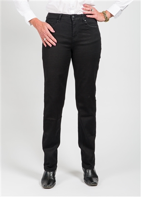 Tribal Jean 5 Pocket Basic Straight Leg Style # 52390-1385-3218 Colour Midnight {Dark Navy)