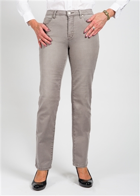 Tribal Jean 5 Pocket Basic Straight Leg Style # 52390-1385 Colour Smog-LightGrey sold out
