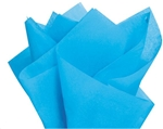 BRIGHT TURQUOISE WRAPPING TISSUE PAPER (480pcs)