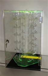 Acrylic Green Sunglass Holder in Display