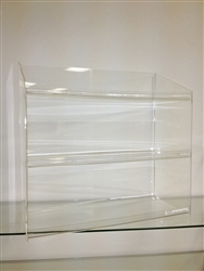 Acrylic Shelf Display with Lip