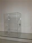 Acrylic Three Slanted Shelf Display Case