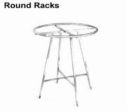 Round clothing rack