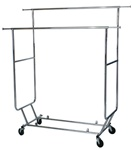 Collapsible Double Rolling Rack