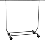 COLLAPSIBLE SALESMAN ROLLING RACK