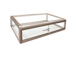 Aluminum Countertop Display Case