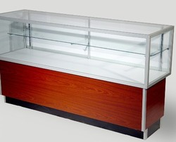 Half glass Display case
