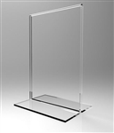 Acrylic Sign Holder Straight