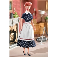 I Love Lucy Barbie Doll Sales Resistance Doll Pink Label