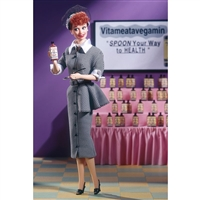 I Love Lucy Barbie Vitametavegamin Pink Label Barbie Doll