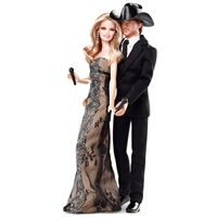 Tim McGraw & Faith Hill Barbie Dolls Pink Label Celebrity Collection