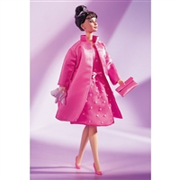 Audrey Hepburn in Breakfast at Tiffany's Pink Princess Fashion Barbie Doll