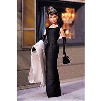 Audrey Hepburn in Breakfast at Tiffany's Barbie Doll Celebrity Collection