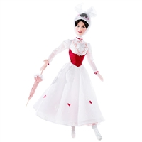 Mary Poppins Barbie Doll Celebrity Pink Label Collection