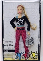 Barbie x Keith Haring Doll Gold Label Collection MTFXD87