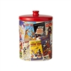 Get it Now Mickey Mouse Classic Film Posters Collage Cookie Jar.  The kids will love eating cookies from our Mickey Mouse Cookie jar.  Keep the kids calm cool and collective as you store them in the is gorgeous Mickey Cookie Jar.  BUY IT NOW.