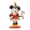 Disney The World of Miss Mindy Christmas Minnie Mouse Statue at boodee.net