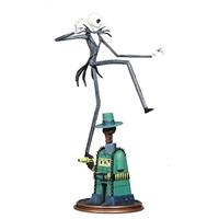 Nightmare Before Christmas Gallery Oogie's Lair Jack Skellington PVC Statue