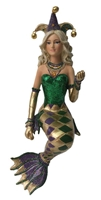 December Diamonds Mardi Mermaid Statue Figurine December Diamonds