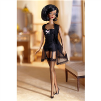 Silkstone Barbie Lingerie African American Doll Gold Label 56120
