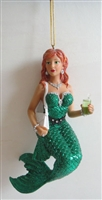 December Diamonds Soda Mermaid Statue Figurine December Diamonds