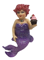 December Diamonds Miss Cupcake Mermaid Statue Figurine December Diamonds
