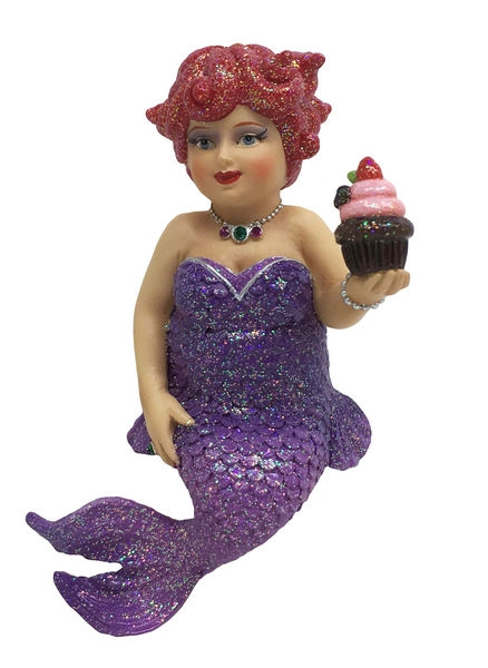 December Diamonds Miss Cupcake Mermaid Ornament