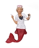 December Diamonds Nurse Naughty Mermaid Statue Figurine December Diamonds