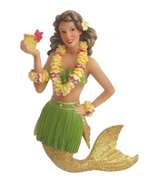 December Diamonds Mai Tai Mermaid Statue Figurine December Diamonds