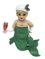Miss Holly Mermaid Statue Figurine December Diamonds
