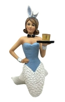 Miss Bunny Mermaid Statue Figurine December Diamonds