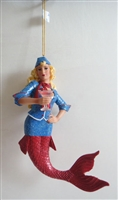 December Diamonds Regina Mermaid Statue Figurine December Diamonds